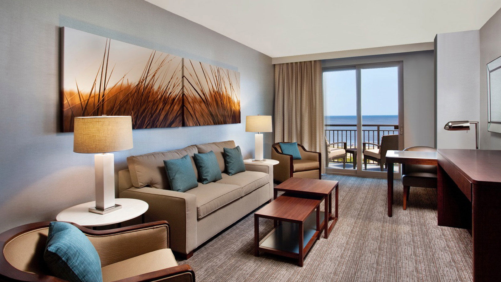 Hotels on Jekyll Island - Ocean View Suite