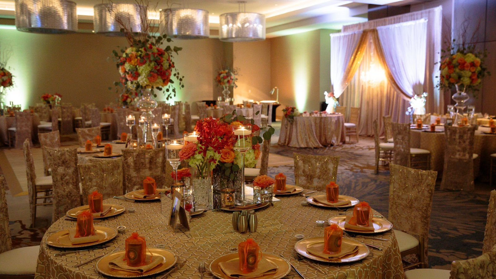 The Westin Jekyll Island - Ballroom Reception Set Up
